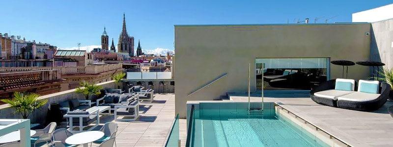 Catalonia Magdalenes nuostabus viešbutis Barselonoje