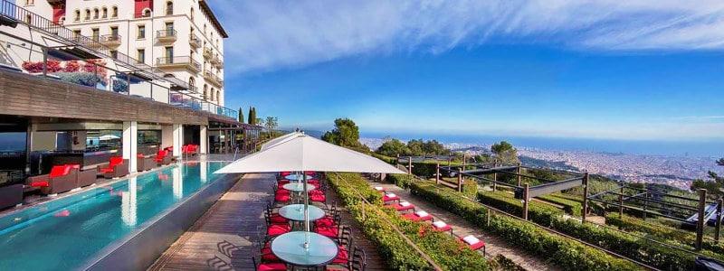 Gran Hotel La Florida išskirtinis prabangus viešbutis Barselonoje