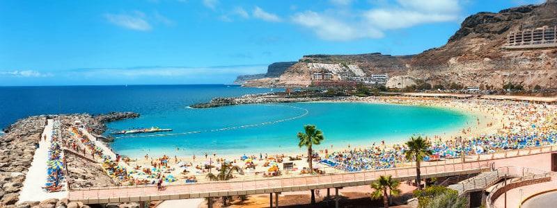 Gran Kanarijos salos paplūdimys
