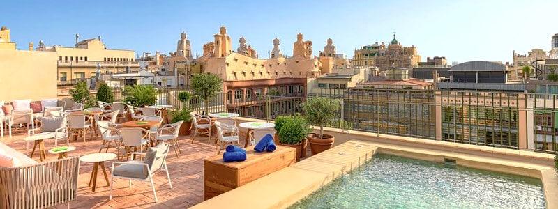 H10 Casa Mimosa nuostabus viešbutis Barselonos širdyje