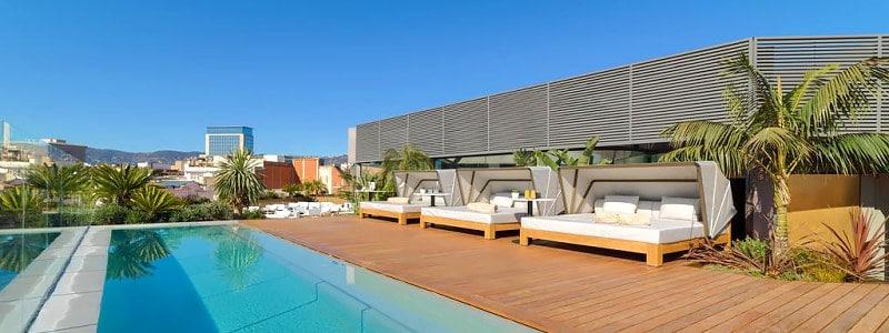 vienas geriausių viešbučių The One Barcelona GL