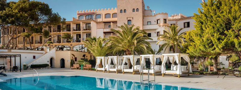 Prabangus viešbutis Maljorkoje Hesperia Mallorca Villamil