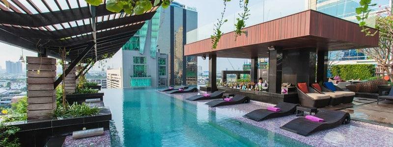 Stogo baseinas viešbutyje Mode Sathorn Hotel