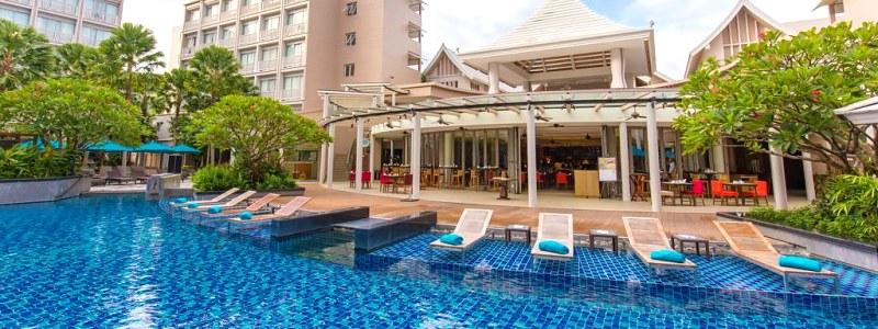 Viešbutis Puketo regione, netoli Patongo