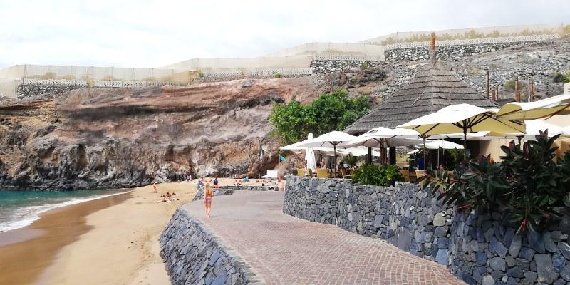 Playa Abama paplūdimio kavinė