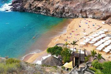 Paplūdimys Playa Abama Tenerifėje