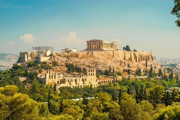 Pigūs viešbučiai Atėnuose, miesto centre