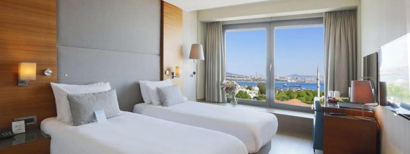 Arcadia Blue viešbutis Stambule su panoraminiais miesto vaizdais