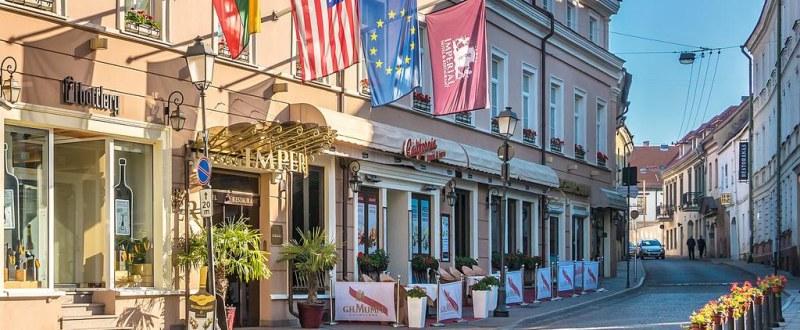 Prabangus viešbutis Lietuvos sostinėje